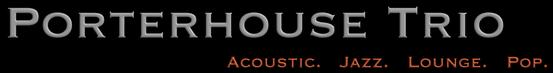 Porterhouse Trio Schriftzug